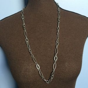 3 FOR $30 Express Silver-Tone Chain Necklace